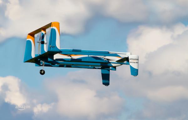 Amazon Prime Air Drone Novembre 2015