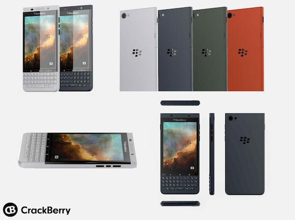 BlackBerry Vienna Rendus