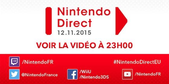 Nintendo Direct 12 Novembre 2015