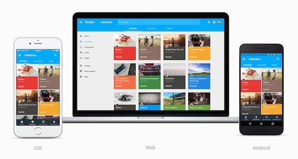 Nouveau Google Plus Novembre 2015