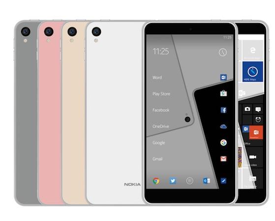 Rumeur Rendu Nokia C1