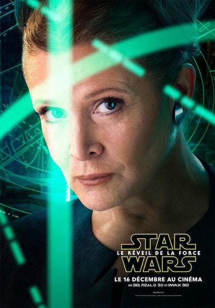 Star Wars Reveil Force Affiches Acteur 3