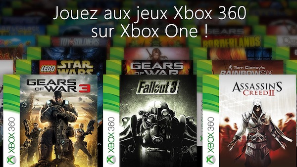 Xbox One Retrocompatibilite Xbox 360