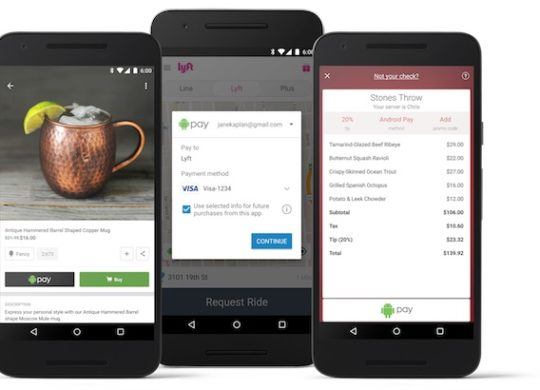Android Pay Dans Applications