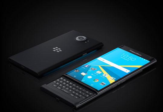 BlackBerry Priv Avant Arriere