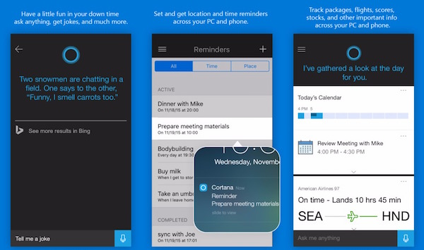 Cortana iPhone