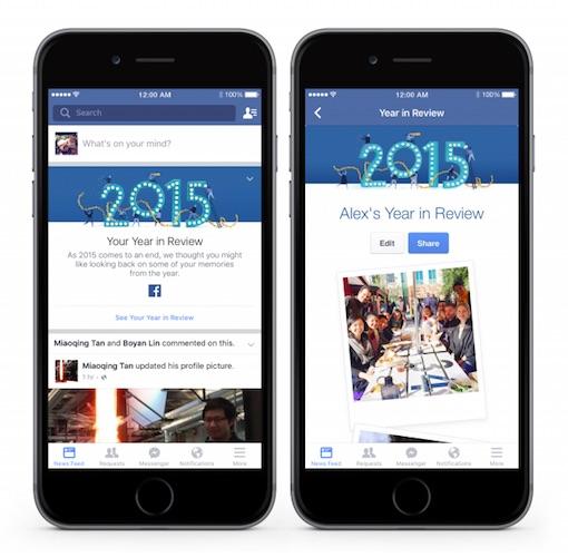 Facebook Retrospective 2015