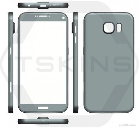 Fuite Galaxy S7 Rendu 2