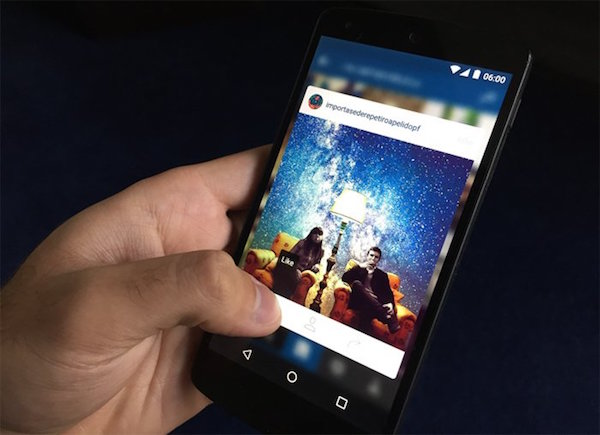 Instagram 3D Touch Application Android