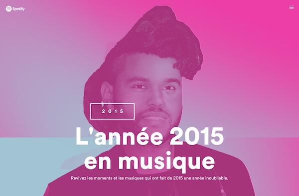 Spotify Annee 2015 En Musique