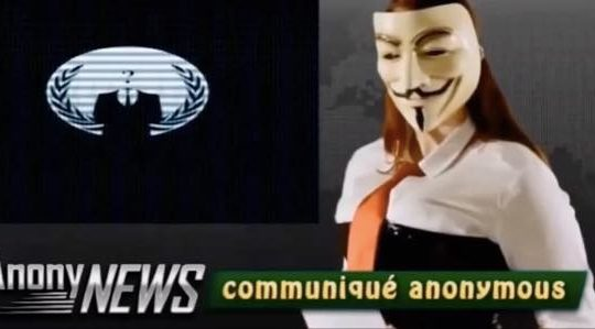 Anonymous attaque PS