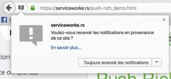 Firefox 44 Notification Web