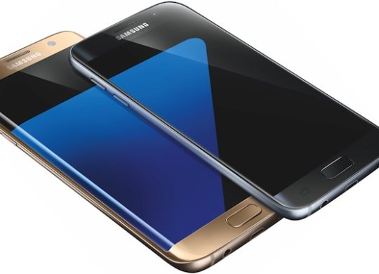 Galaxy S7 Galaxy S7 Edge Gris Or Rendu Presse