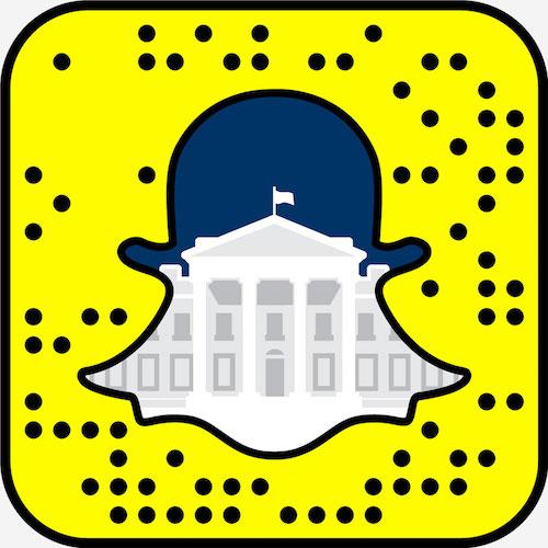 Snapchat Snapcode Maison Blanche