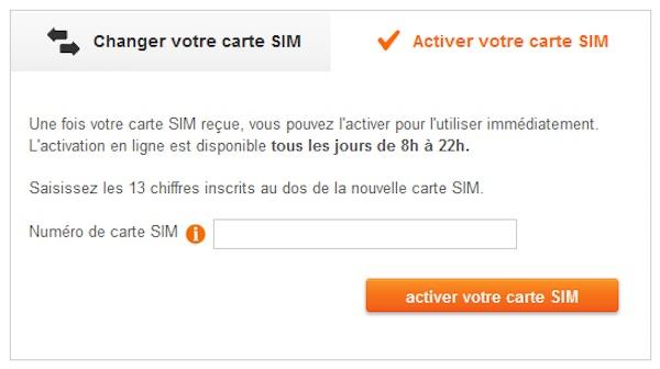 Sosh Activer Carte SIM En Ligne