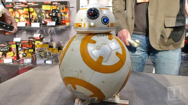 BB-8 toy fair 2