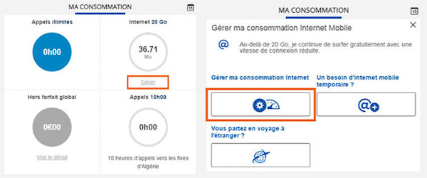 Bouygues Telecom Gerer Consommation Internet