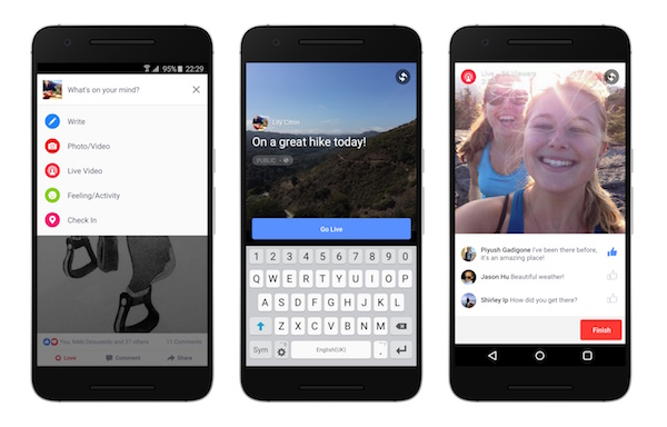 Facebook Video Direct Android