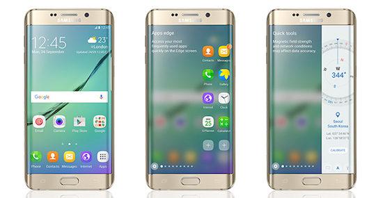 Galaxy S6 Edge Android 6.0 Marshmallow