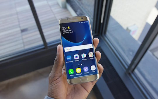 Galaxy S7 Edge Avant Or