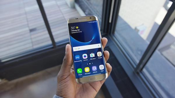 Galaxy S7 Edge Avant Or