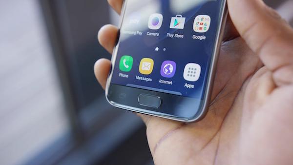 Galaxy S7 Lecteur Empreintes