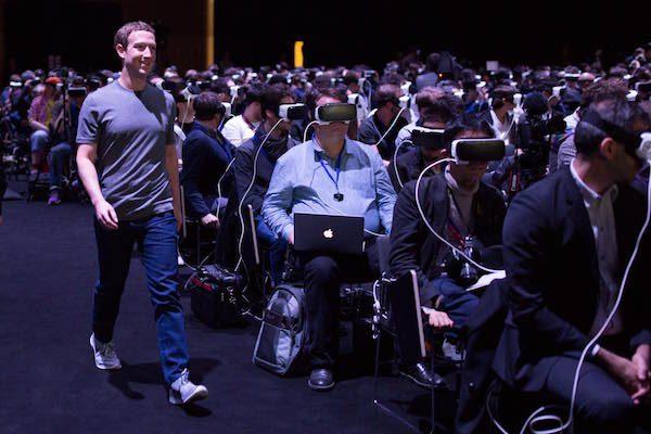 Mark Zuckerberg Gear VR