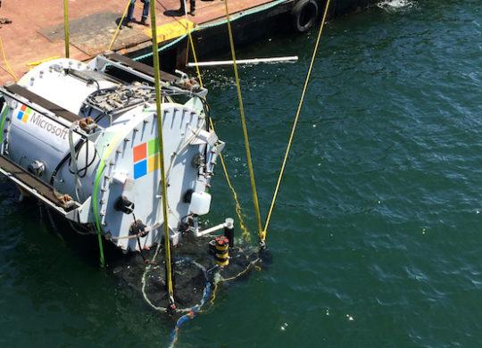 Microsoft Data Center Ocean