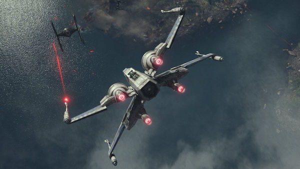 Star Wars Reveil Force X Wing