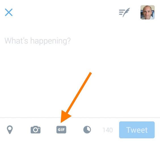 Twitter Bouton GIF