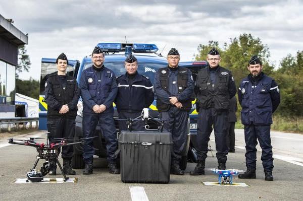 gendarmerie drone