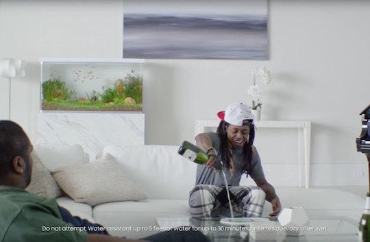 Lil Wayne Galaxy S7 Publicite