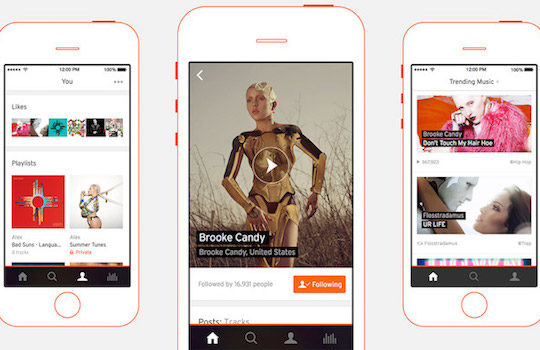 SoundCloud Application iPhone