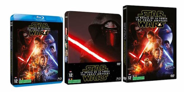 Star Wars Reveil Force DVD BluRay