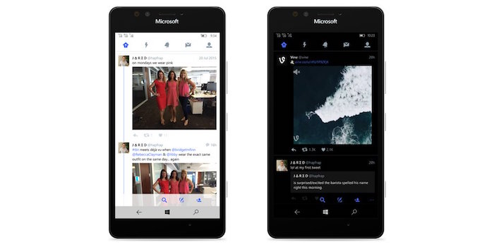 Twitter Application Windows 10 Mobile