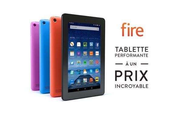 Amazon Fire Nouveaux Coloris
