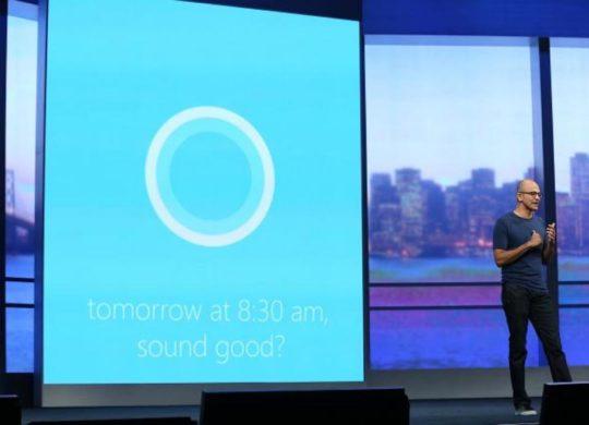 Cortana Build 2016