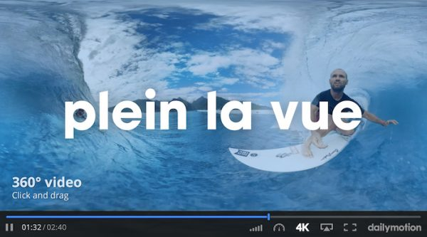 Dailymotion Video 360 Degres