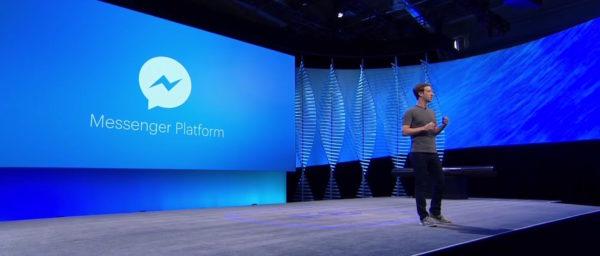 Facebook Messenger Plateform Zuckerberg