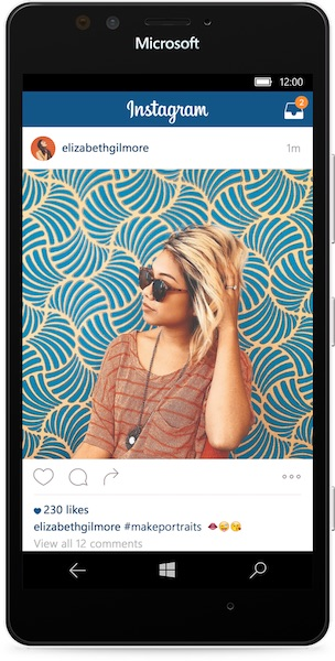 Instagram Application Windows 10 Mobile