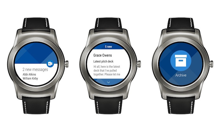 Outlook Application Android Wear