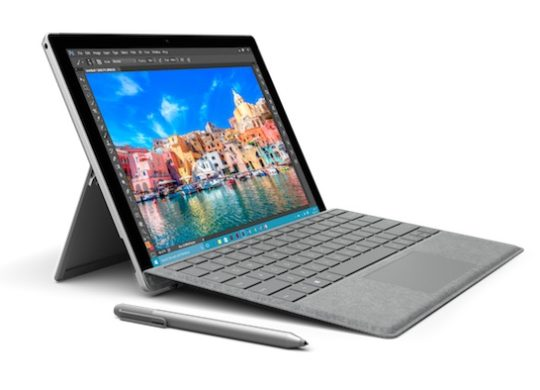 Signature Type Cover Alcantara Surface Pro