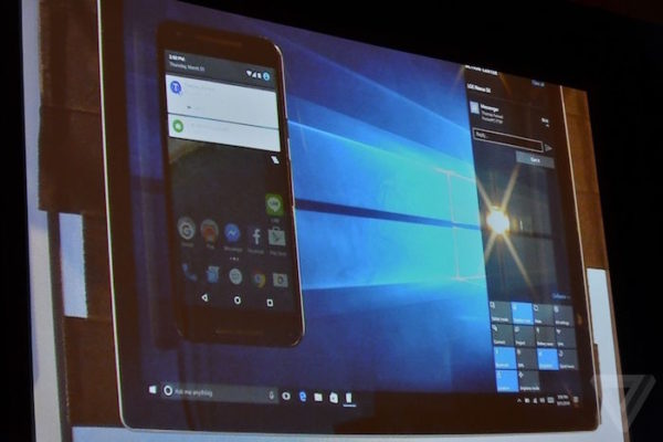 Windows 10 Notifications Android