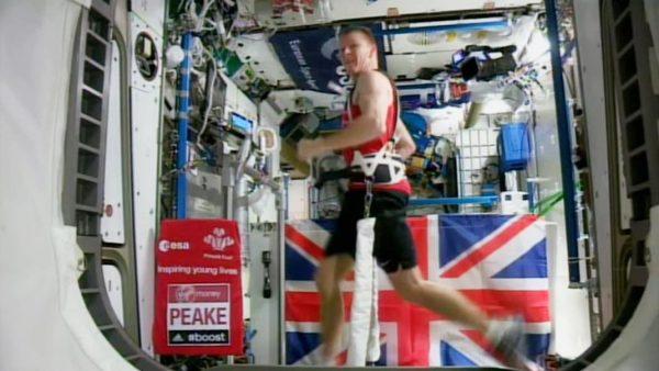 astronaute marathon ISS