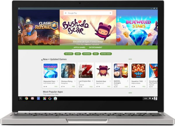 Chromebook Google Play Store