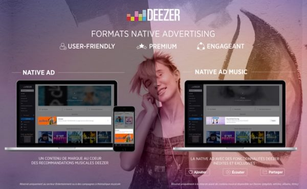Deezer Nouveaux Formats Publicitaires