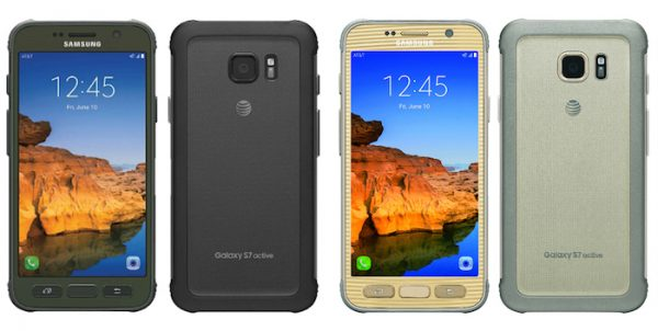 Galaxy S7 Active Avant Arriere