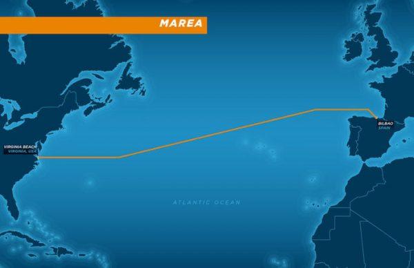 Microsoft Facebook Cable Sous Marin MAREA