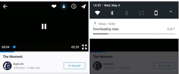 Vimeo Telechargement Video Android