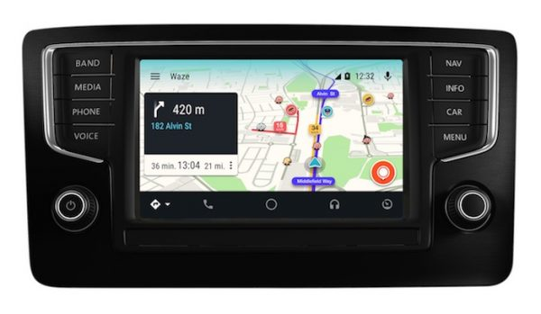 Waze Application Android Auto